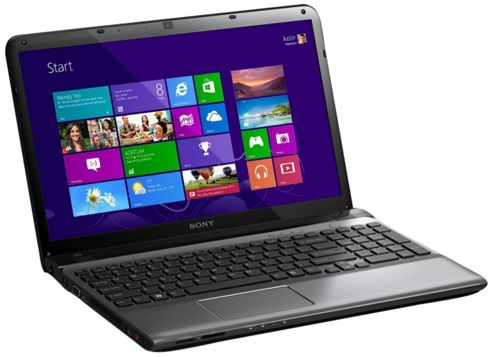 Sony Vaio SVE-1112M1E Notebook AMD Dual Core 1.7GHz 4GB 500GB 11 inch DVD?RW WLAN BT Windows 8 (Radeon HD 7340M)