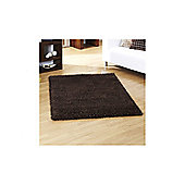 Ultimate Rug Co Lifestyle Chocolate Shag Rug - 120cm x 170cm