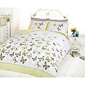 Rapport Art Flutter Lemon Duvet Cover Set - King