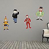 The Binary Box Mr Benn Character 2 Wall Stickers