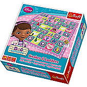 Doc McStuffins Snakes and Ladders Game