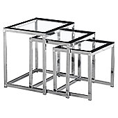 Home Essence Henley 3 Piece Nest of Tables