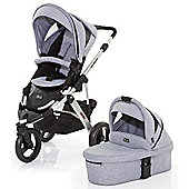 ABC Design Cobra 3 in 1 Pushchair & Carrycot (Silver/Graphite)