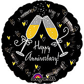 18' Happy Anniversary Cheers (each)