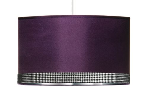 Premier Housewares Radiance Pendant Shade - Purple