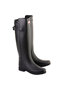 Hunter Tall Back Strapped - Black Size 5