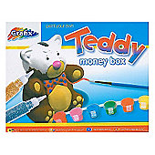 Grafix Paint Your Own Teddy Money Box