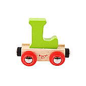 Bigjigs Rail BR112 Name Letter L (Colours Vary)