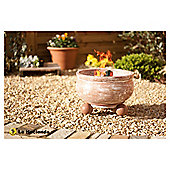 La Hacienda  Clay Round Fire Pit