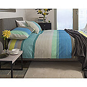Metropolitan Barcelona Easycare Single Quilt Set Blue