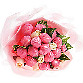 Pink Chocolate Gift Bouquet