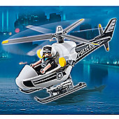Playmobil 5563 City Action Police Tactical Unit Helicopter with 1 Policeman