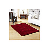 Ultimate Rug Co Lifestyle Red Modern Rug - 80cm x 150cm (2 ft 7.5 in x 4 ft 11 in)