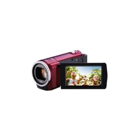 JVC Everio GZ-E15 (1.5MP) Memory Camcorder 40x Optical Zoom 2.7 inch LCD (Red)