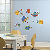 Space Rockets and Planets Wall Stickers 39