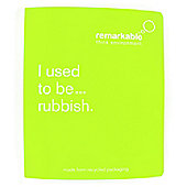 Remarkable 'I Used To Be... Rubbish' A4 Ring Binder