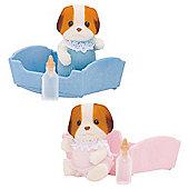 Chiffon Dog Baby - Sylvanian Families Figures 5070