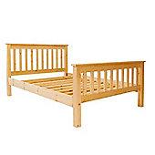 Single Size Premier Slatted Pine High End Bed - 3ft