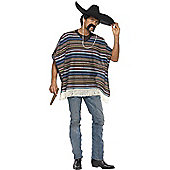 Poncho - Adult Costume Size: 38-40