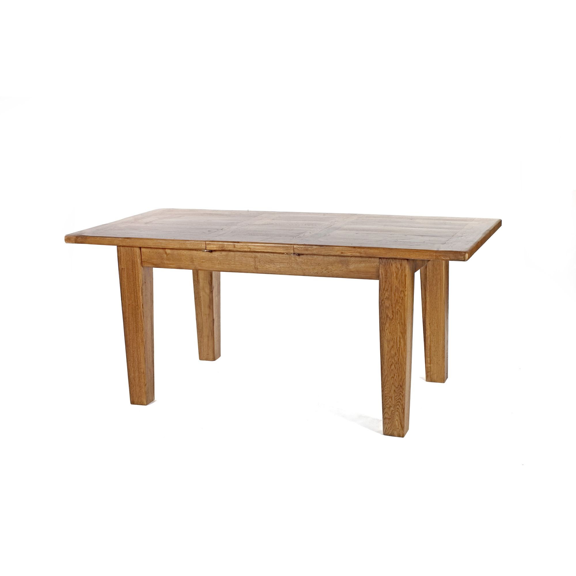 Wiseaction Florence Extension Solid Oak Dining Table - 254cm x 112cm