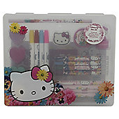 Hello Kitty Floral Colouring Box