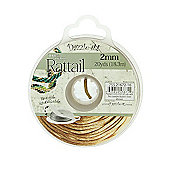Rattail with Re-Useable Bobbin - Gold Bronze - 20yds