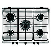 Hotpoint GC750IX  Gas 5 Burner Stainless Steel