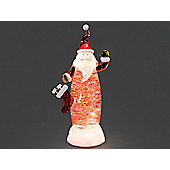 Konstsmide 2840-000 Acr.Santa With Water Warm White