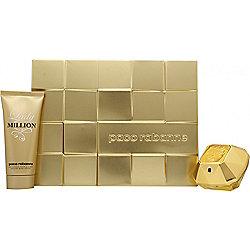 Paco Rabanne Lady Million Gift Set 50ml EDP + 100ml Body Lotion For Women