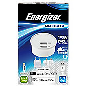 Energizer Ultimate Mains Charger Lightning