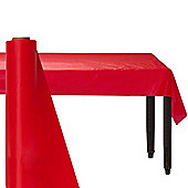 Red Paper Table/Banquet Roll 8m