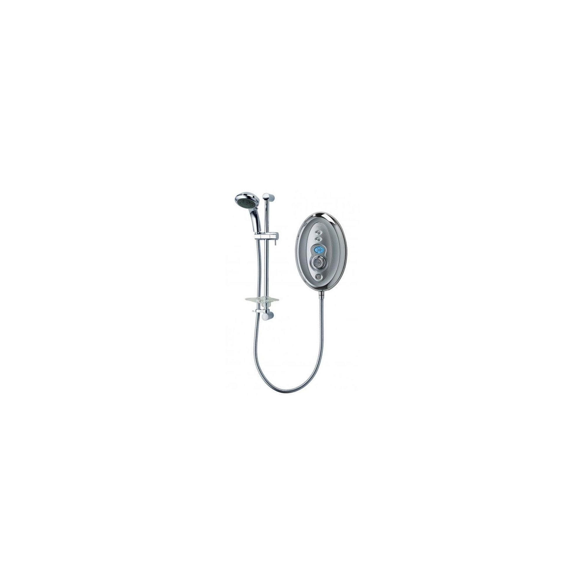 Triton Aspirante Topaz Thermostatic Electric Shower Chrome 9.5 kW at Tesco Direct