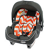OBaby Group 0+ Infant Car Seat (ZigZag Orange)