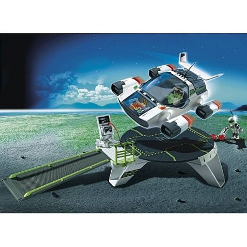 Playmobil 5150 E-Rangers Turbojet with Launch Pad