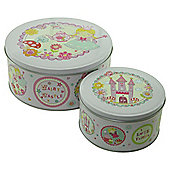 Fairies 2 pack Baking Tins- 19.8 cm and 13.6cm