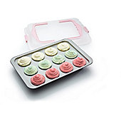 Non-Stick Twelve Hole Bake and Carry Cupcake Tray