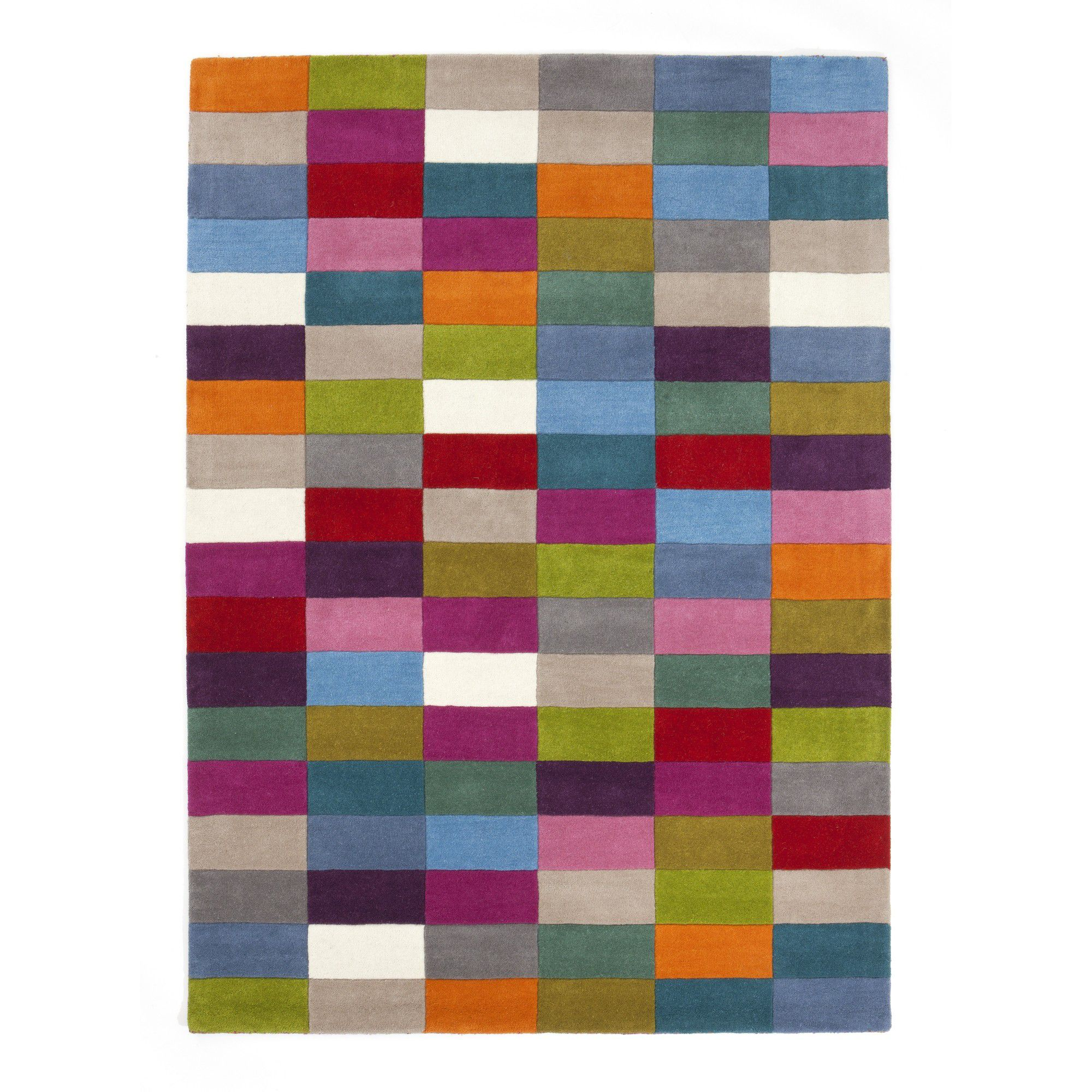 Linie Design Romina Mixed Rug - 200cm x 140cm at Tesco Direct
