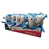 London 2012 24 Mandeville Soft Toy Key Rings Value Pack