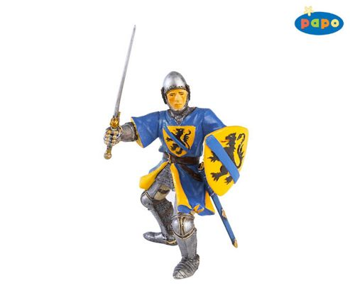 Flanders Knight BLUE - Knights - Papo