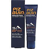 Piz Buin Mountain Sun Cream Lipstick SPF 15 20ml