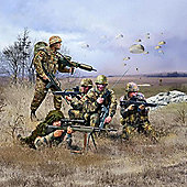 Revell 02521 German Paratroops Modern Figures 1:72 Military Model Kit