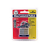 Sterling Lpl132 Padlock S/Lk Lam.30Mm