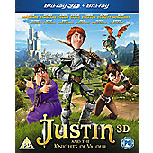 Justin And The Knights Of Valour - 3D Blu-Ray