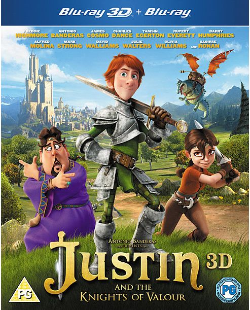 Justin And The Knights Of Valour (3D Blu-ray)