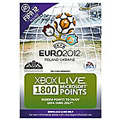Xbox Live - Uefa Euro 2012 - 1800 Points Card