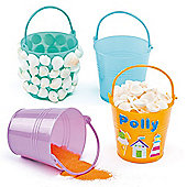 Mini Plastic Buckets (Pack of 6)