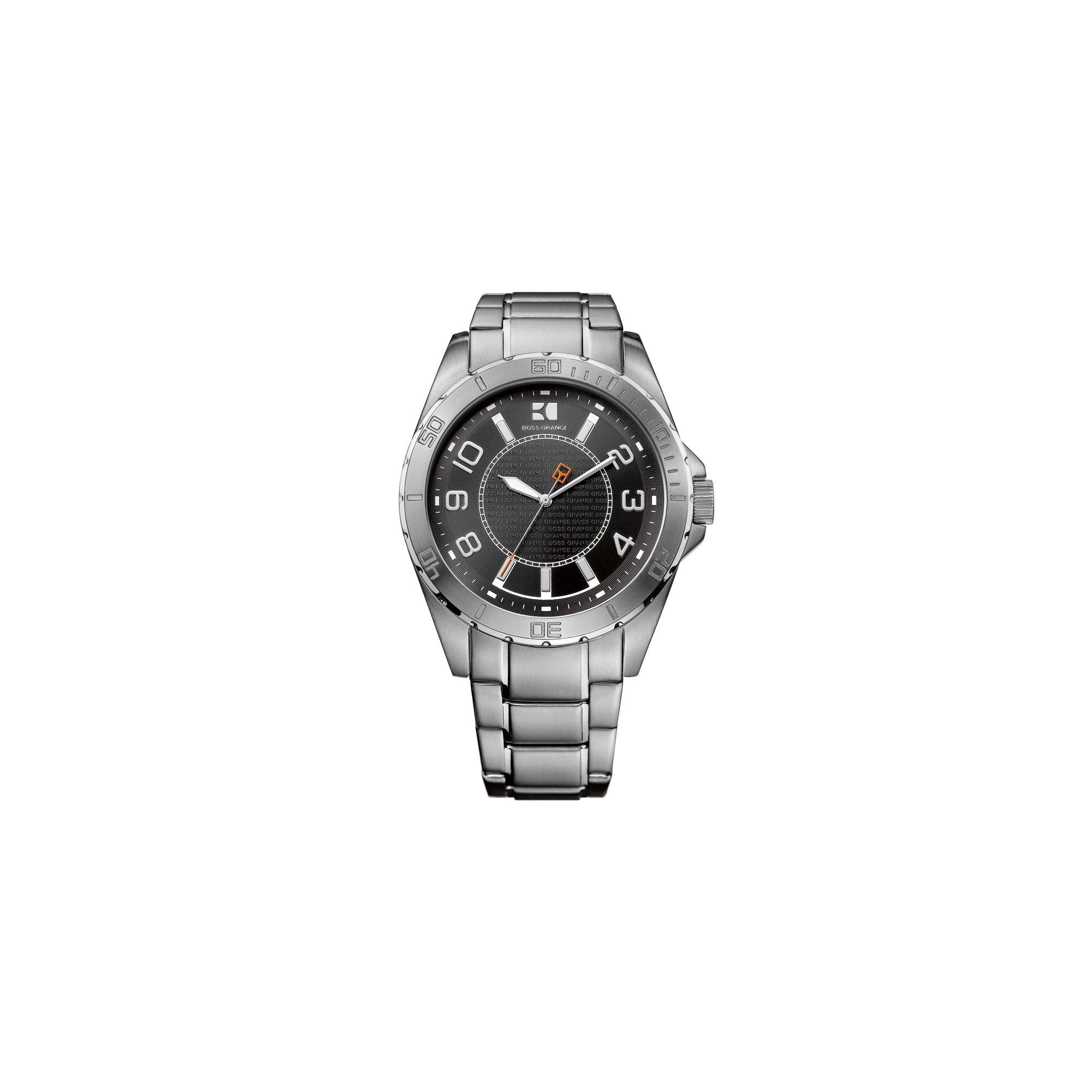 myshop hugo boss orange mens stainless steel watch 1512835