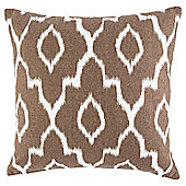 IKAT Cushion Brown