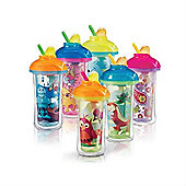 Munchkin Click Lock Insulated Flip Straw Cup 10oz - Boys