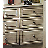 Welcome Furniture Pembroke 6 Drawer Midi Chest - Driftwood